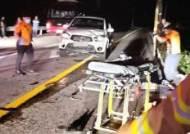 귀가하던 마을주민 3명, 60대 운전자에 치여…2명 사망·1명 중상