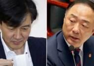 """또 잦아진 조국 페북…홍남기 """"단호한 대응 의지 표현"""""""