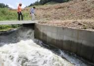 마른 장마로 예당평야에 공주보 주변 금강 물 공급