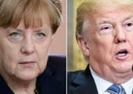 """메르켈, 트럼프 작심 비판…""""인종차별 발언 미국 힘 약화시켜"""""""