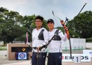 이승윤-김우진, 프레올림픽 남자 개인전 1-2위 휩쓸어…한국, 전 종목 金