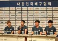 도쿄올림픽 남자 배구대표팀, 예선 앞두고 프로팀들과 연습경기