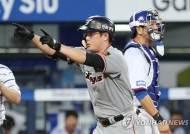 '시즌 18호' 이성열, 삼성전서 시즌 4번째 멀티 홈런 폭발