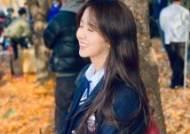 김소현, 교복 입고 청순 미소···예쁨지수 100%
