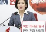 """나경원, 운영위 연기 제안 """"文, NSC 열고 北 경고메시지 내달라"""""""