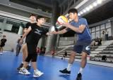 프로배구 <!HS>현대캐피탈<!HE>, 충남 초등학교 배구팀 초청 훈련