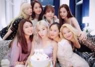 A Complete SNSD Reunion On TIFFANY YOUNG'S Birthday!