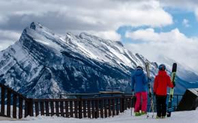 한 해 7달 슬로프 개방, 스키 성지 캐나다 로키를 즐기는 법