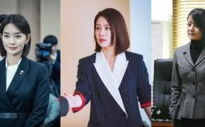 검블유, 왓쳐, 지정생존자…드라마 속 파워우먼들의 패션 공식