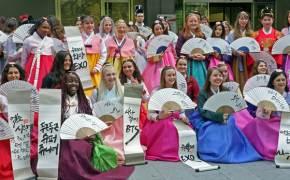 프랑스 학생 88명 '이것' 보러 한국 한 달 여행