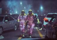 '엑시트' 가스 체험, '알라딘' 싱어롱…테마파크 변신한 극장가