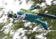 한여름밤의 스키점프... '평창 메모리얼' 스키점프 FIS컵 개최