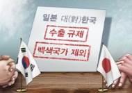 """""""日정부, 반도체 소재 수출 첫 허가…규제 대상 확대"""""""