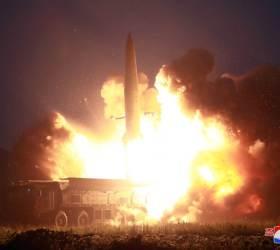 [사진] 북한 <!HS>미사일<!HE> 사정권에 성주 <!HS>사드<!HE>기지