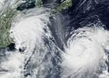 한·중·일 폭풍 속으로…태풍 2개 한반도 주변으로 북상 중