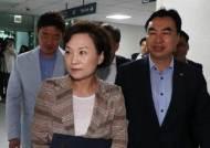 """""""김현미, 문제제기 답 못했다"""" 불만 내비친 與 의원들"""