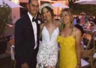 미셸 위, NBA 전설 제리 웨스트 아들과 비공개 결혼