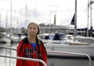 16세 환경운동가 툰베리, 화장실도 없는 요트로 대서양 건넌다
