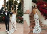 """""""끝난줄 알았지?"""" 결혼식 사진 여러장 공개한 미셸 위"""