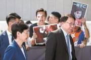 [사진] 홍콩 안대 시위 격화, 또 항공편 결항