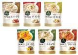 [食쌀을 합시다] 쌀알의 살아있는 식감, 깊은 맛 육수, 풍성한 재료···'파우치죽' 인기몰이