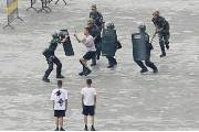 [서소문사진관] 진압, 체포, 연행, 홍콩 옆에서 벌어지는 실전같은 훈련