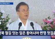 """""""민주공화국 선포한 지 100년"""" 정부수립 표현 안 했다"""