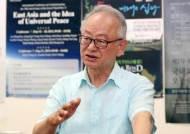 """""""일과 최상위 각급 대화 필요…가을쯤 협상시작해야"""" 이부영 동아시아평화회의 운영위원장"""