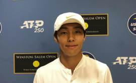 """'ATP 투어 첫 승' 이덕희 """"못할 거라고 했지만, 해냈어요"""""""