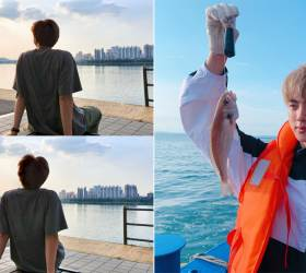 How BTS <!HS>Is<!HE> Spending Their Well-Deserved Vacation