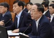 """홍남기, 올 정부 성장률 목표 2.4~2.5% 달성 """"결코 쉽지 않다"""""""