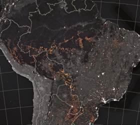 [사진] 이틀간 1663건 … 우주에서도 보이는 <!HS>아마존<!HE> 산불