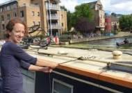 살인적 집값에 배에서 산다, 런던 청춘들의 '우울한 운하'