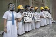 교복입은 여고생까지 거리로 나선 홍콩, 동맹휴업·총파업 돌입
