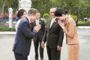 [사진] 쁘라윳 태국 총리와 회담