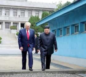 [단독] <!HS>트럼프<!HE>·<!HS>김정은<!HE> <!HS>판문점<!HE>회담 뒤엔 군사 핫라인 있었다