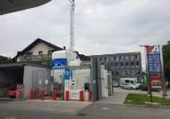 독일엔 세차장 크기 액화수소충전소…수소열차도 달린다