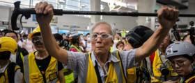 최루탄에 지팡이로 맞섰다…85세 노인이 <!HS>홍콩<!HE><!HS>시위<!HE> 간 이유