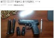 총기 사진 올리며 '文협박' 일베 회원, 인터폴 적색수배