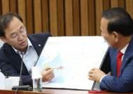 [포토사오정]정유섭 의원, 함박도는 '우리 영토 '북 군사시설 철거하라