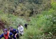 태풍 '링링' 덮친 산속서 9일간 떨던 60대 구조한 경찰 수색견