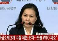 [속보] 정부 칼 뽑았다···WTO에 일본 수출규제 조치 제소