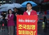 """다시 장외로 나간 한국당…황교안 """"법 30년 해봐서 아는데…"""""""
