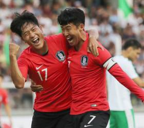 '나상호-정우영 연속골' 벤투호, 카타르 <!HS>월드컵<!HE> 첫 승