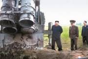 [사진] 북한 방사포 2발 날아갔는데 3발 쏜 흔적 … 사라진 1발 미스터리