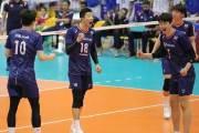 남자 배구, 인도네시아 꺾고 3연승… 아시아선수권 8강행
