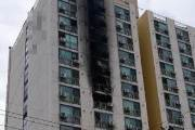 추석날 어머니 사는 아파트에 불 지른 40대 아들 구속영장