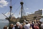 신대륙 도착 '메이플라워호', 청교도 이민 400주년 맞아 재탄생