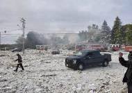 """""""이라크서도 본 적 없다"""" 건물 흔적조차 날려버린 美가스폭발"""