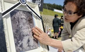 [서소문사진관]66년 만에 가족의 품에 안긴 화살머리고지 전투영웅 남궁 선 이등중사